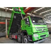 Quality 31 Tons Heavy Duty Dump Truck 8x4 336HP For Transport Sand / Stone / Coal for sale