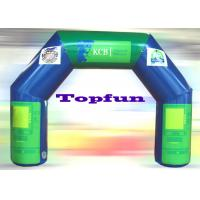 China Custom Inflatable Advertising Archway With 10m Span , PVC Coated 210D Nylon Fabric on sale