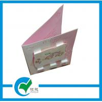 Quality New Style Christmas Day Greeting Card Stock Paper CMYK Printing for sale