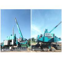 Quality Roadside Hydraulic Piling Machine 460T Piling Capacity No Air Pollution for sale