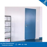 Quality Paper Honeycomb Sandwich Panel Door / Operating Room Doors With Air Lock System for sale