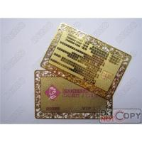 China high quality metal business card on sale