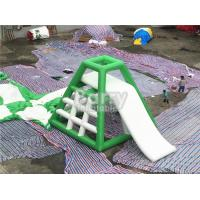 China 4.8m High Inflatable Water Toys Inflatable Water Jumping Tower With Water Slide wholesale