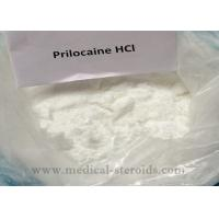 Quality White Crystals Powder Local Anesthetic Drugs Prilocaine Hydrochloride HCL For Painkiller for sale