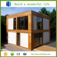 China HEYA prefab steel frame shipping living container homes house building on sale