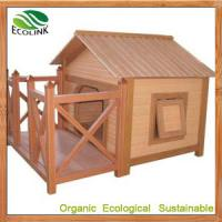 Quality China Wpc Products / Chinese Wooden Dog Crate Dog Kennel Dog Cage Dog House for sale