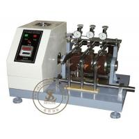 Quality ASTM - D1630 Leather Testing Equipment Rubber Abrasion Testing Machine for sale