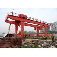 Quality 35ton Heavy Duty Gantry Crane , Electric Runway Traveling Overhead Gantry Crane for sale