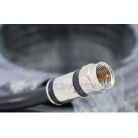 Quality Digital Camera Transmit RG6 CATV Coaxial Cable in 20M with Compression Connector for sale