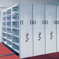Quality Metal Steel Mobile Filing Storage Cabinets/ Steel Movable Mass Shelves/Mobile Shelving System for sale