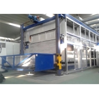 China 1200kw Continuous Glass Bending Machine With Bending Moulds on sale