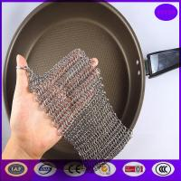 Quality Metal Ring Cast iron scrubber from china suplier for sale