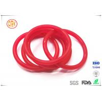 Buy cheap Red Acid Resistance Ageing Resistance EPDM Customized O Ring Shape For Chemical from wholesalers