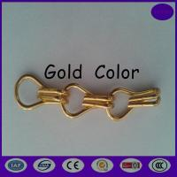 Quality Gold color Aluminium Chain Door Fly Screen - Stripes from china honest dealer for sale
