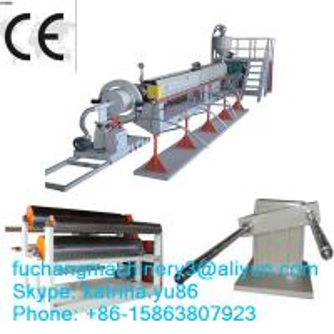China Butane foamed Foamed Package EPE Foaming Machinery / CE on sale