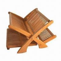 China Bamboo Dish Rack, Natural Resistance to Bacteria and Odor on sale