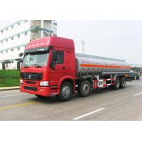 Quality 12 Wheels Sinotruk HOWO Oil Tanker Truck 30CBM Big Capacity 371HP Engine for sale