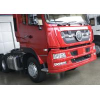 Quality 80R22.5 Tire Prime Mover Truck With ZF8198 Driving Steering 3 Axles for sale