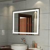 Quality Customized big size lighted mirror with mirror demister pads for sale