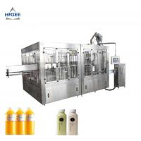 China Automatic Liquid Filling Machine , Carbonated Beverage Bottling Equipment on sale