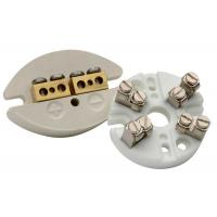 Quality Thermocouple Machinable Ceramic Block / Industrial Porcelain Connector Block for sale