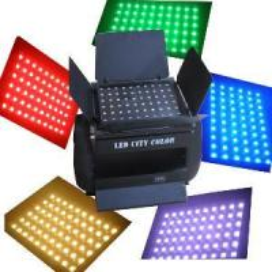 China 60x15watt DMX Tri LED City Color Light 3 in 1 (CL-1144) on sale