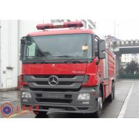 China Gross Weight 28000kg Water Tanker Fire Truck With 12000kg Capacity Liquid Tank on sale