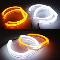 Quality Dual color SMD LED Angel Eyes DRL turn signal light for BMW F30 F35 E90 E92 LED Angel Eyes for sale