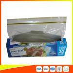 Snap Seal Reusable Sandwich Bags For Coles Supermarket Large Size 35*27cm