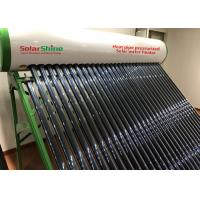 Quality Stainless Steel  Heat Pipe Solar Water Heater , Glass Tube Solar Water Heater for sale