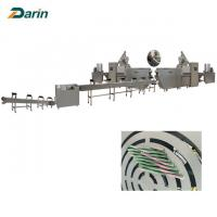 China SUS Single Screw Dog Food Extruder Fast Production For Pet Treats Making on sale