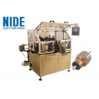 Buy cheap Manual Motor Rotor Winding Machine Touch Screen For Hook Type Commutator from wholesalers