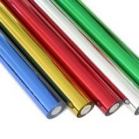 China Hot Foil Printing Coloured Foil Rolls Stamp For PVC / Textile / Fabric on sale