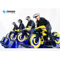 Quality Challenging VR Racing Game VR Moto Multiplayer Competing Machine 360 Degree View for sale