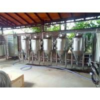 Quality Beer fermenter conical fermentation tank 500l 1000l unitank for sale