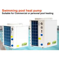 Quality Durable Indoor Pool Heat Pump 2.6 - 20 KW Input Power Freestanding Installation for sale
