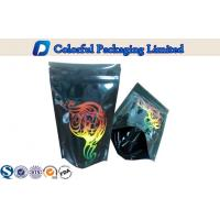 China customized Aluminium stand up packaging pouches for baby food / dry fruit on sale