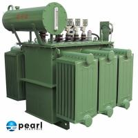 Quality 20kV - Class Low Noise Oil Immersed Power Transformer Anti - Short Circuit for sale