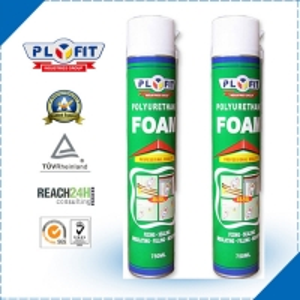 Quality Adhesive Sealant REACH 30kPa 750ml PU Foam Spray for sale
