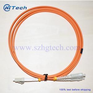 Quality China Fiber Patch Lead Supplier SC-LC Fiber Jumper Multimode Orange Color for sale