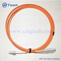 Buy cheap China Fiber Patch Lead Supplier SC-LC Fiber Jumper Multimode Orange Color from wholesalers