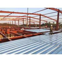 China Prefabricated Standard Light Frame Construction Structural Steel Fabrication on sale