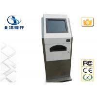 Quality HR / Ticket 17'' Internet Banking Kiosk Interactive Touch Screen Kiosks for sale