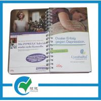 Quality 1 - 4C(CYMK) Spiral Bound Book Printing with PP Cover for School Education for sale