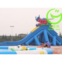 China High Quality giant inflatable pool slide for adult  with warranty 48months  GTWP-1634 on sale