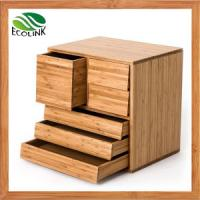 Quality China Cheap Small Chest of Drawers with Bamboo for Bedroom for sale