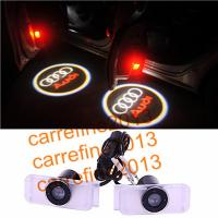 Quality LED Door logo Ghost Shadow Projector Lights for AUDI A8 A6 A5 A4 Q7 Q5 Plug & Play for sale
