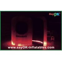 Quality Color Change Inflatable LED Photo Booth With Remote Control L3*W2*H2.3M for sale