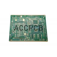 China Electronics Double Sided Copper Clad Board 8 Layer Green Color High Performance on sale