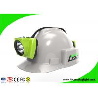 Quality IP68 Underground Led Miners Cap Lamp  Coal Miner Hard Hat Light for sale